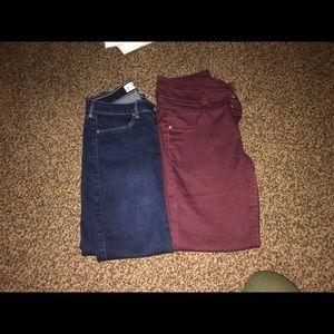 Pants - Skinny jeans bundle!